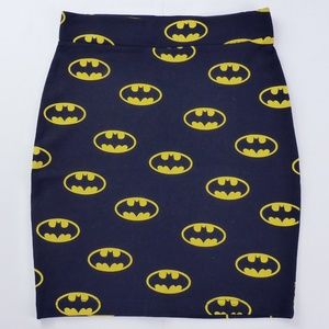 Batman Mini Skirt H&M sz XS
